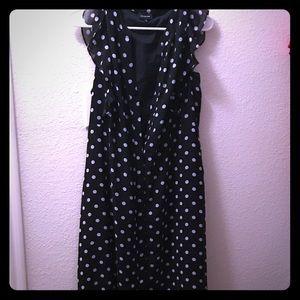 WWW Polka Dot Midi Dress